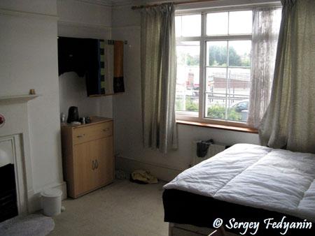 Моя комната в Лондоне