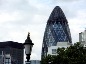 Gherkin or Swiss Re Tower