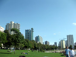 English Bay, Downtown